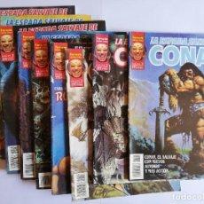 Cómics: LA ESPADA SALVAJE DE CONAN . VOLUMEN 2 -10 COMICS - COMPLETA. Lote 292392073