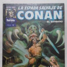 Cómics: LA ESPADA SALVAJE DE CONAN EL BÁRBARO. SUPER CONAN. 2A. EDICIÓN. NO. 4 CONAN EL RENEGADO. Lote 292392883