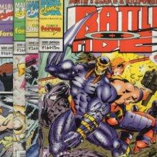 Cómics: BATTLETIDE II (DEATH'S HEAD & KILLPOWER) COMPLETA 1 A 4 - FORUM - SUB01M. Lote 292505053
