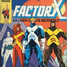 Cómics: FACTOR X RETAPADO CON LOS NUMEROS 21 A 25 - FORUM - BUEN ESTADO - SUB01M. Lote 292505348
