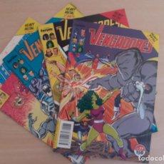 Cómics: LOS VENGADORES. HEAVY METAL. COMPLETA. 4 EJEMPLARES. FORUM. BUEN ESTADO. Lote 292623813