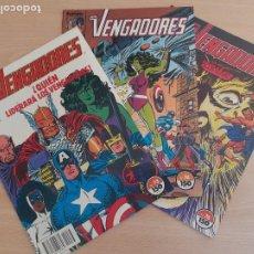 Cómics: LOS VENGADORES. LOTE DE 3 EJEMPLARES. FORUM. BUEN ESTADO. Lote 292624173