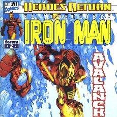 Cómics: IRON MAN VOL. 4 Nº 2 - FORUM. Lote 293163608