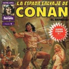 Cómics: SUPER CONAN Nº 1 (2ª EDICION) - PLANETA - IMPECABLE - SUB01M. Lote 293183148