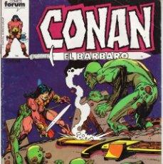 Cómics: CONAN EL BARBARO Nº 40 - FORUM - SUB01M. Lote 293233983