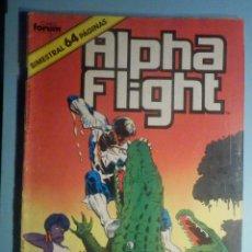 Cómics: ALFHA FLIGHT - Nº 38 - FORUM - BIMESTRAL 64 PÁGINAS -. Lote 293250798