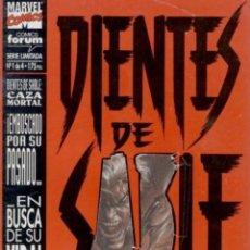Cómics: DIENTES DE SABLE - X-MEN - COMPLETA 4 NÚMEROS. Lote 293276583