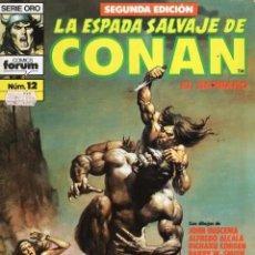 Cómics: LA ESPADA SALVAJE DE CONAN VOL. 1 SEGUNDA EDICION Nº 12 - FORUM - BUEN ESTADO - SUB01M. Lote 293280013