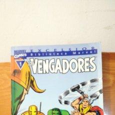 Cómics: LOS VENGADORES ~ MARVEL COMICS N°1 ~ BIBLIOTECA MARVEL ~ EXCELSIOR. Lote 293310963