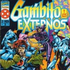 Cómics: GAMBITO Y LOS EXTERNOS Nº 3 - FORUM - BUEN ESTADO - SUB01M. Lote 293324348