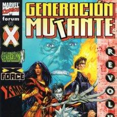 Cómics: GENERACION MUTANTE Nº 11 - FORUM - BUEN ESTADO - SUB01M. Lote 293324483