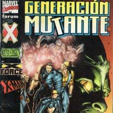 Cómics: GENERACION MUTANTE Nº 12 - FORUM - SUB01M. Lote 293324523
