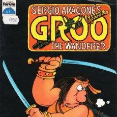 Cómics: GROO THE WANDERER Nº 1 - FORUM - BUEN ESTADO - SUB01M. Lote 293324608