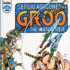 Cómics: GROO THE WANDERER Nº 4 - FORUM - MUY BUEN ESTADO - SUB01M. Lote 293324678