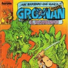 Cómics: GROONAN EL VAGABUNDO Nº 2 - FORUM - BUEN ESTADO - SUB01M. Lote 293324698