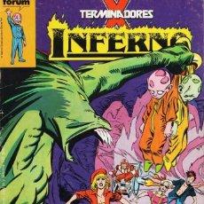 Cómics: INFERNO Nº 2 - FORUM - SUB01M. Lote 293325083