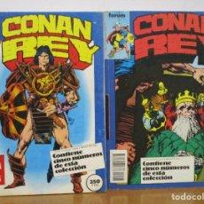 Cómics: COLECCION CONAN REY - 8 TOMOS - 40 COMICS - VER NUMEROS - FORUM. Lote 293434208