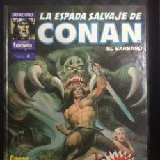 Cómics: LA ESPADA SALVAJE DE CONAN EL BÁRBARO N.4 SÚPER CONAN EL RENEGADO 2@ EDICIÓN ( 1989 ). Lote 293511928