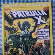 Cómics: ESPECIAL INVIERNO LA PATRULLA X, POR JIM STERANKO Y BARRY WINDSOR-SMITH. Lote 293548298