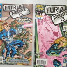 Cómics: FURIA AGENTE 13. FORUM. 2 NÚMEROS COMPLETA. Lote 293583593