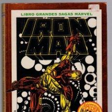 Fumetti: LIBRO GRANDES SAGAS MARVEL. IRON MAN. AVENTURA COMPLETA. MUERTE EN EL CIBERESPACIO. FORUM. 1995. Lote 293596343
