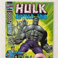 Cómics: HULK CAPÍTULO UNO ANUAL 2000 - FORUM «MUY BUEN ESTADO». Lote 293668543