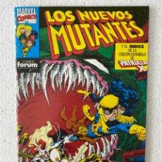Cómics: LOS NUEVOS MUTANTES #64 - FORUM - 64 PÁGINAS - «INFRECUENTE EN PERFECTO ESTADO». Lote 293699403