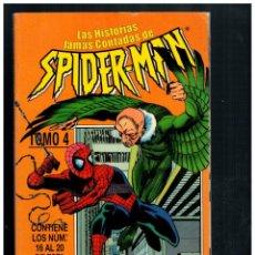 Cómics: SPIDERMAN. SPIDER-MAN. TOMO RETAPADO 4 CON NÚM. 16 AL 20. FORUM.. Lote 293822948