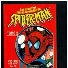 Cómics: SPIDERMAN. SPIDER-MAN. TOMO RETAPADO 2 CON NÚM. 6 AL10. FORUM. MUY BUENO.. Lote 293823378