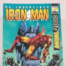 Cómics: EL INVENCIBLE IRON MAN ANUAL 2000 / MARVEL FORUM. Lote 293890593