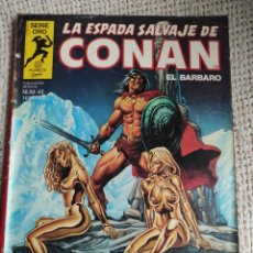 Cómics: LA ESPADA SALVAJE DE CONAN Nº 45 - 1ª - PRIMERA EDICION. Lote 293896398
