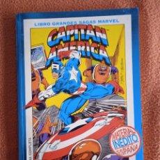 Cómics: LIBRO GRANDES SAGAS MARVEL CAPITÁN AMÉRICA CENTINELA DE LA LIBERTAD. Lote 293926403