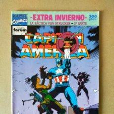 Cómics: CAPITÁN AMÉRICA EXTRA INVIERNO // MARVEL COMICS, FORUM 1992. Lote 293934628