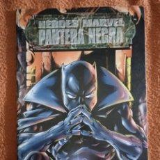 Cómics: HÉROES MARVEL PANTERA NEGRA. Lote 293945058