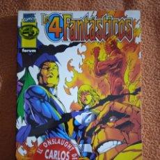 Cómics: LOS 4 FANTÁSTICOS ONSLAUGHT DE CARLOS PACHECO. Lote 293945363