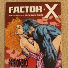 Cómics: FACTOR-X: PRISIONERO DEL AMOR. COLECCIÓN PRESTIGIO # 22. FORUM. IMPECABLE. Lote 293962073
