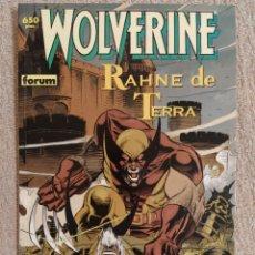 Cómics: WOLVERINE (LOBEZNO): RAHNE DE TERRA. COLECCIÓN PRESTIGIO # 41. FORUM. IMPECABLE. Lote 293965928