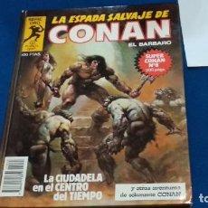 Cómics: SERIE ORO LA ESPADA SALVAJE DE CONAN EL BARBARO Nº8 LA CIUDADELA EN EL CENTRO DEL TIEMPO -FORUM 1982. Lote 294027663