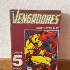 Cómics: LOS VENGADORES RETAPADO TOMÓ 13 NÚMEROS 101 AL 105. Lote 294049533