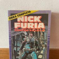 Cómics: NICK FURIA CONTRA S.H.I.E.L.D. RETAPADO OBRA COMPLETA. Lote 294050638