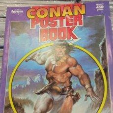Cómics: CONAN POSTER BOOK. MULTITUD DE DE POSTERS A TODO COLOR CON LAS MEJORES ILUSTR. DE LA ESPADA SALVAJE. Lote 294060298