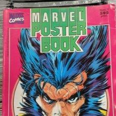 Cómics: LOBEZNO . MARVEL POSTER BOOK. MULTITUD DE POSTERS A TODO COLOR. Lote 294074293