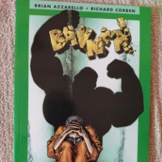 Cómics: BANNER (EL INCREÍBLE HULK). BRIAN AZZARELLO Y RICHARD CORBEN. TOMO. FORUM. IMPECABLE. Lote 294089788