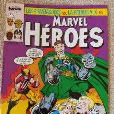 Cómics: MARVEL HÉROES: LOS 4 FANTÁSTICOS VS LA PATRULLA X . MINISERIE COMPLETA. Nº 11, 12, 13 Y 14. FORUM. Lote 294094173