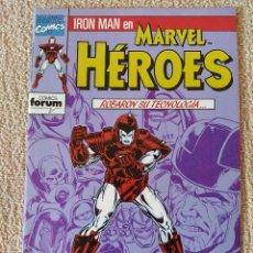 Cómics: MARVEL HÉROES: IRON MAN (STARK WARS). MINISERIE COMPLETA. NÚMEROS 54, 55, 56, 57, 58 Y 59. FORUM. Lote 294098748