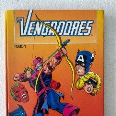 Cómics: LOS VENGADORES VOL 1 / TOMO RETAPADO TAPA DURA 1 NºS 1 A 5 / MARVEL / FORUM 1983 «MUY RARO». Lote 294127283