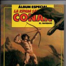 Cómics: LA ESPADA SALVAJE DE CONAN EL BARBARO. ALBUM ESPECIAL EXTRA CON TRES NUMEROS: 83-84-85.. Lote 294375823