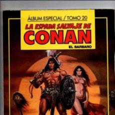 Cómics: LA ESPADA SALVAJE DE CONAN EL BARBARO. ALBUM ESPECIAL TOMO 20. FORUM-PLANETA. Lote 294375998