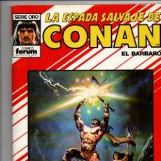 Cómics: LA ESPADA SALVAJE DE CONAN EL BARBARO. ALBUM ESPECIAL VERANO. FORUM-PLANETA. Lote 294376633