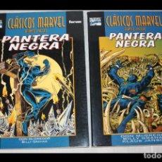 Cómics: PANTERA NEGRA ( MACGREGOR & GRAHAM).- CLÁSICOS MARVEL EN BLANCO Y NEGRO: Nº 7 Y 14 (COMPLETA). Lote 294419453